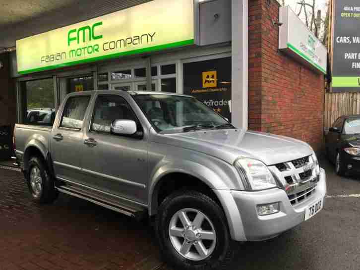 2006 Isuzu Rodeo 3.0TD LE Denver Max Double Cab Pick up Full History