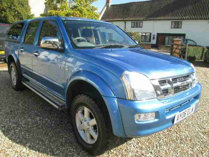 2006 Rodeo D max 3.0 TDi 4WD Pick Up