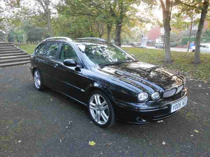 2006 JAGUAR X-TYPE SPORT D BLACK
