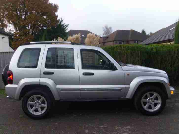 2006 JEEP CHEROKEE LIMITED 2.8 LITRE CRD DIESEL AUTOMATIC 4WD 4X4