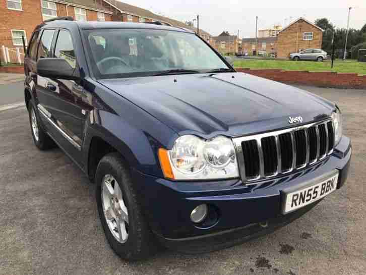 jeep 2006 grand cherokee 3 0 crd diesel automatic car for sale. Black Bedroom Furniture Sets. Home Design Ideas