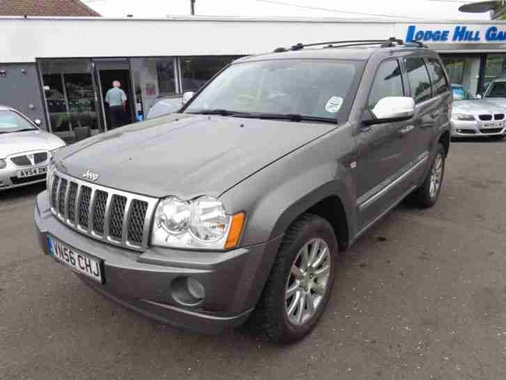 jeep 2006 grand cherokee 3 0 v6 crd overland estate diesel car for sale. Black Bedroom Furniture Sets. Home Design Ideas