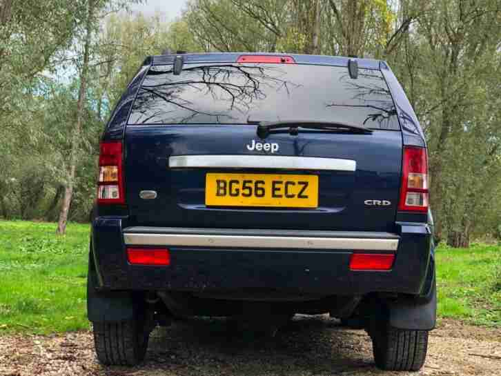 2006 JEEP GRAND CHEROKEE 3.0CRD (215BHP) 4X4 AUTOMATIC OVERLAND 5 DOOR SUV