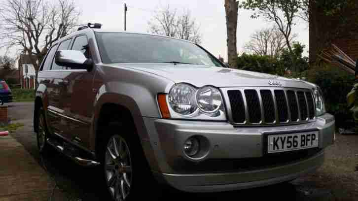 jeep 2006 grand cherokee overland 3 0 v6 crd car for sale. Black Bedroom Furniture Sets. Home Design Ideas