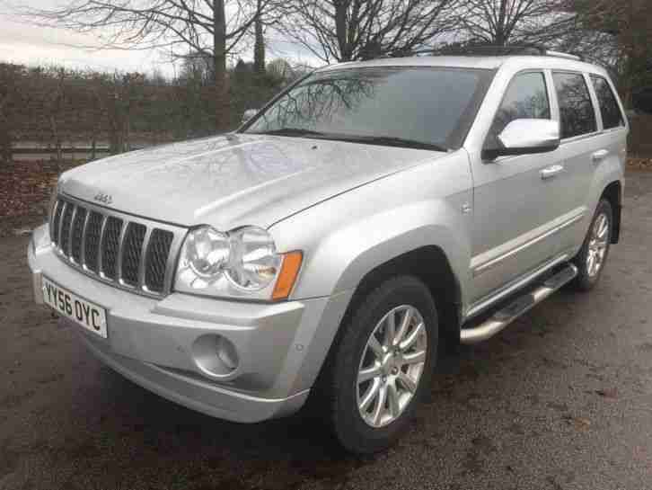2006 JEEP GRAND CHEROKEE OVERLAND CRD AUTO 119K MILES FSH FULL MOT VERY CLEAN