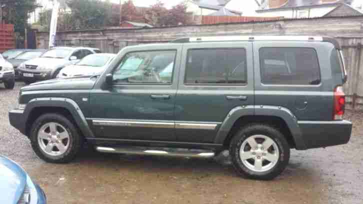 jeep 2006 commander 3 0 crd limited 5dr auto 5 door estate. Black Bedroom Furniture Sets. Home Design Ideas