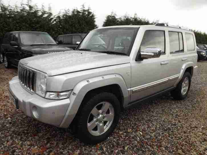 jeep 2006 commander 3 0 crd v6 limited station wagon 4x4. Black Bedroom Furniture Sets. Home Design Ideas