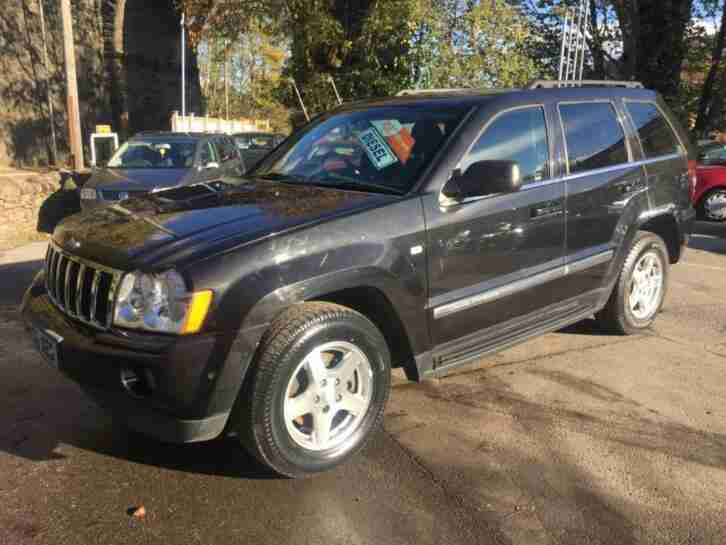 2006 Jeep Grand Cherokee 3.0 CRD Limited 5dr Auto 5 door Estate