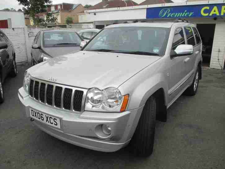 2006 Jeep Grand Cherokee 3.0 CRD Overland 5dr Auto