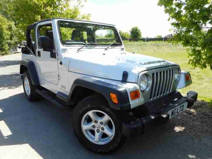 2006 Wrangler 4.0 Jamboree Soft top 4x4