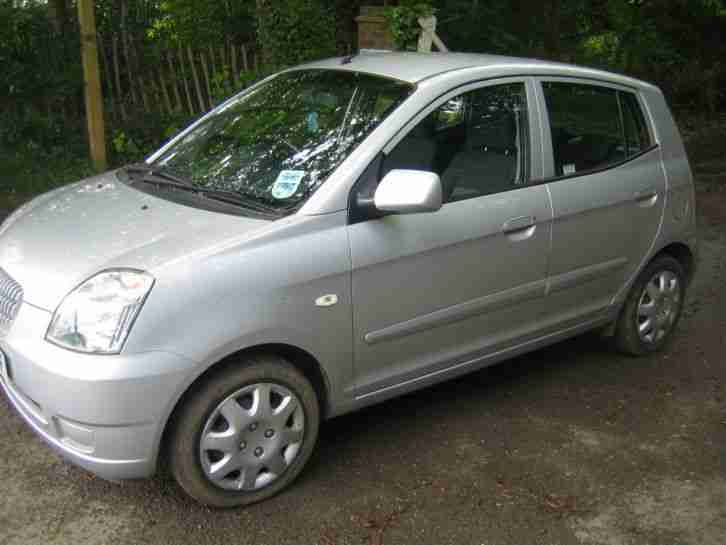 kia 2006 picanto lx auto silver car for sale. Black Bedroom Furniture Sets. Home Design Ideas