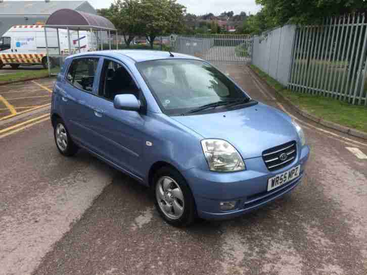 kia 2006 picanto se blue 35 a year road tax 5 door great little car. Black Bedroom Furniture Sets. Home Design Ideas