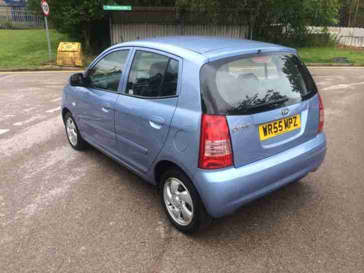 2006 KIA PICANTO SE+ BLUE £35 A YEAR ROAD TAX 5 DOOR GREAT LITTLE CAR BARGAIN