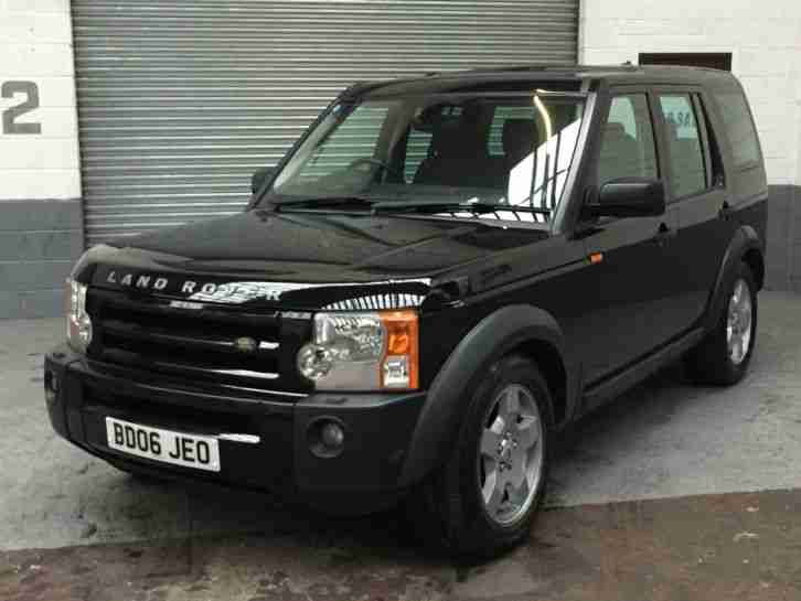 2006 land rover discovery 3 2 7 tdv6 s black 7 seater car for sale. Black Bedroom Furniture Sets. Home Design Ideas