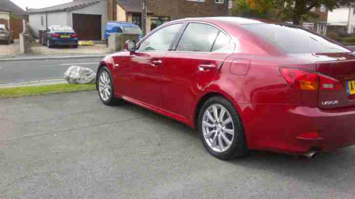 Lexus 2006 Is 250 Se Red Car For Sale