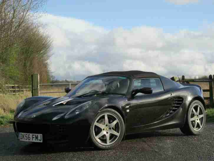 2006 LOTUS ELISE 1.8 S 2dr Black Manual Petrol S2