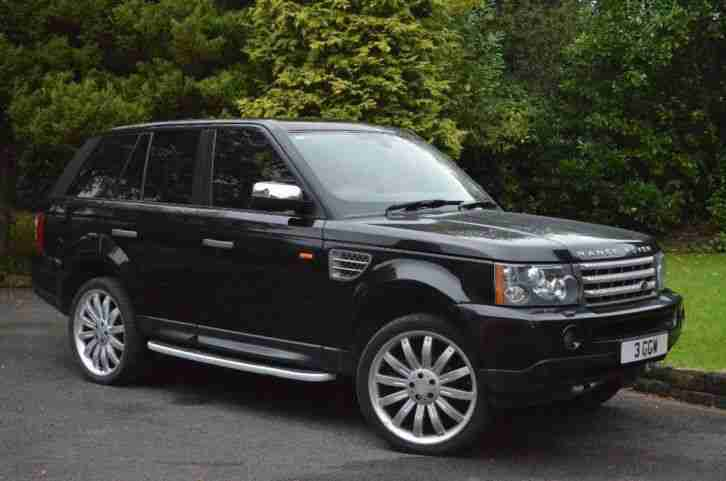 2006 land rover range rover sport 2 7 tdv6 hse 5dr auto car for sale. Black Bedroom Furniture Sets. Home Design Ideas