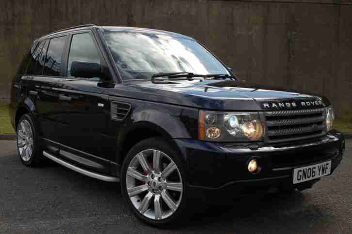 2006 land rover range rover sport 2 7 tdv6 hse auto blue metallic. Black Bedroom Furniture Sets. Home Design Ideas