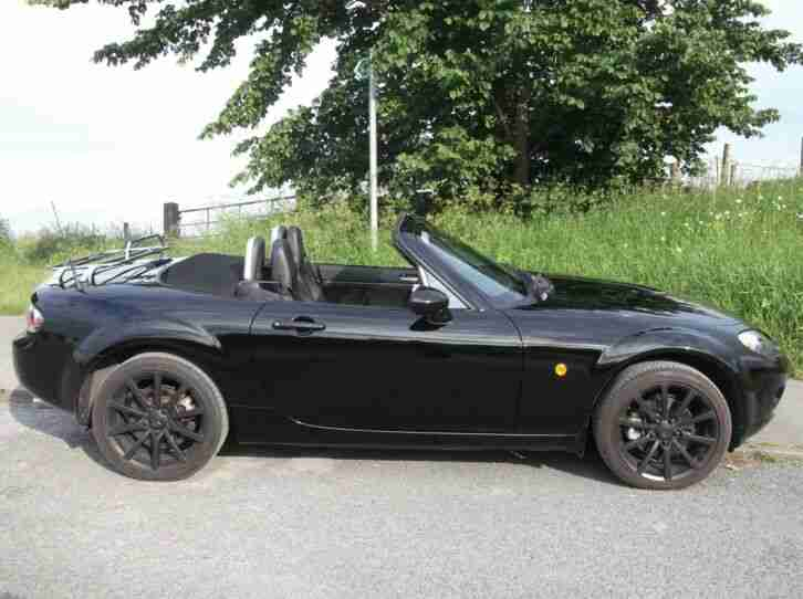 2006 MAZDA MX5 Mk3 2.0 SPORT, BLACK, SOFT TOP, 35k MILES CONVERTIBLE