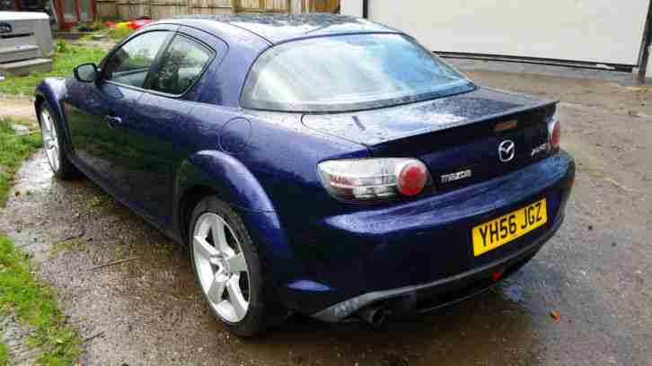 2006 MAZDA RX-8 (231) 4 DOOR SPORTS COUPE SPARES OR REPAIR LOW MILES NO RESERVE