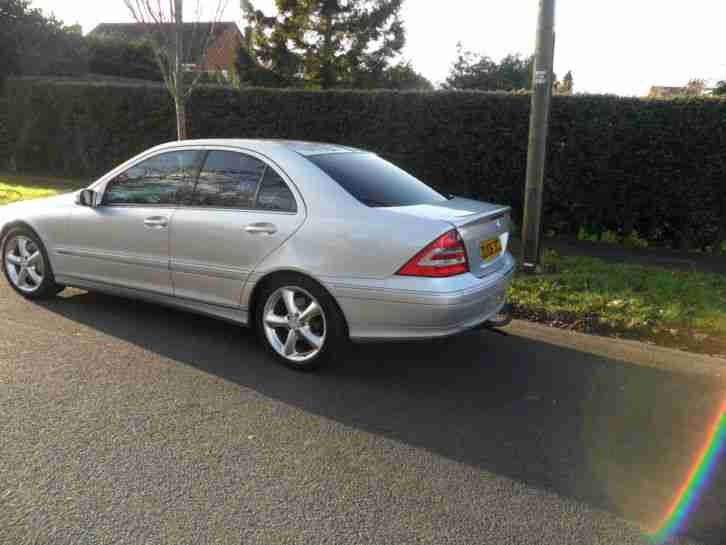 2006 mercedes c200 cdi avantgarde se au silver car for sale. Black Bedroom Furniture Sets. Home Design Ideas