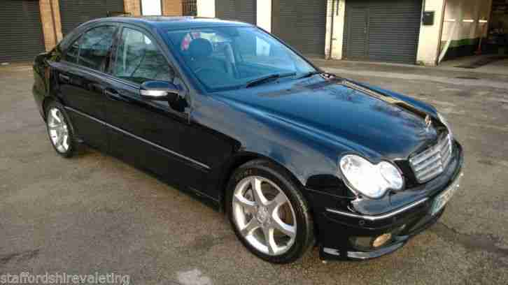 2006 mercedes c320 cdi sport edition auto 66k fsh. Black Bedroom Furniture Sets. Home Design Ideas