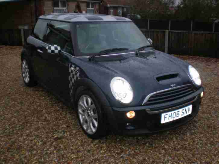 mini 2006 cooper s checkmate 55 000 full service history immaculate. Black Bedroom Furniture Sets. Home Design Ideas