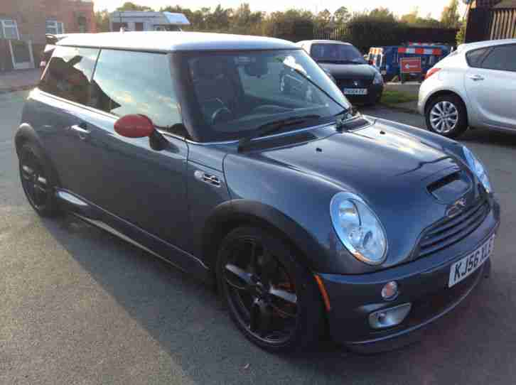 mini 2006 cooper s jcw gp blue car for sale. Black Bedroom Furniture Sets. Home Design Ideas
