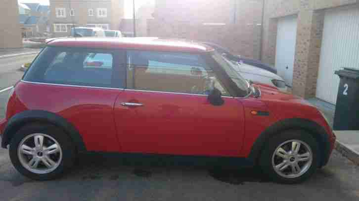 2006 MINI MINI ONE 1.6L RED