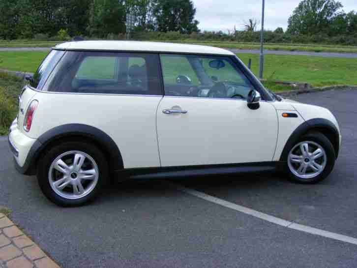 2006 MINI ONE D E4 1.4 TDI TURBO DIESEL WHITE