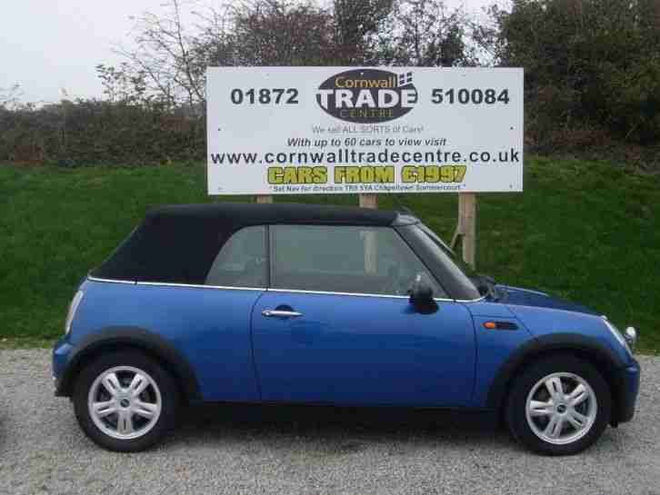 2006 Mini Convertible 1.6 One 2dr 2 door Convertible