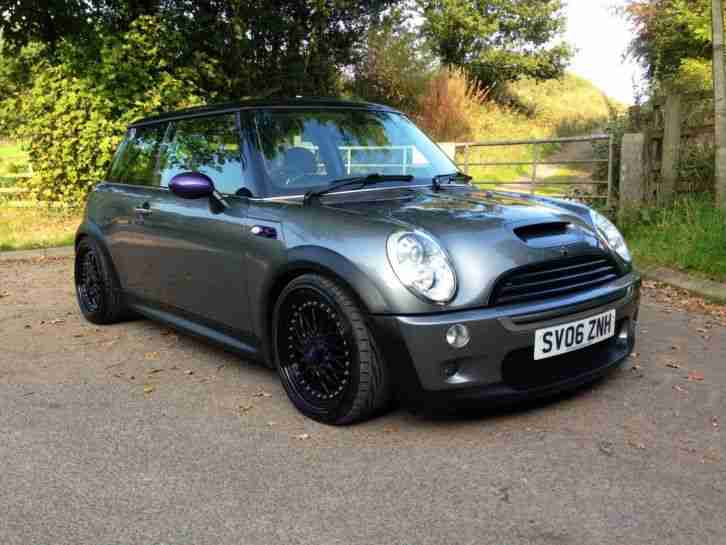 mini 2006 cooper s 1 6 r53 stunning bbs car for sale. Black Bedroom Furniture Sets. Home Design Ideas
