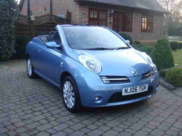 nissan 2006 micra sport c c blue car for sale. Black Bedroom Furniture Sets. Home Design Ideas