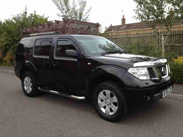 nissan 2006 pathfinder 2 5 diesel 7 seats full service history. Black Bedroom Furniture Sets. Home Design Ideas