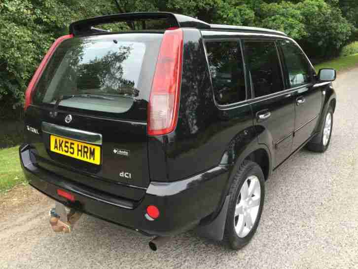 2006 NISSAN X-TRAIL 2.2 DCI COLUMBIA 4X4 SAT NAV 6 SPEED LTD EDTION DIESEL