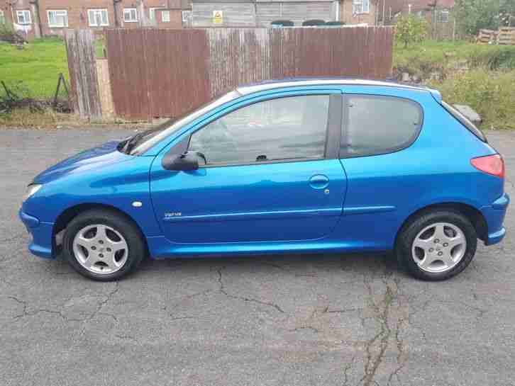 Peugeot 206. Peugeot car from United Kingdom