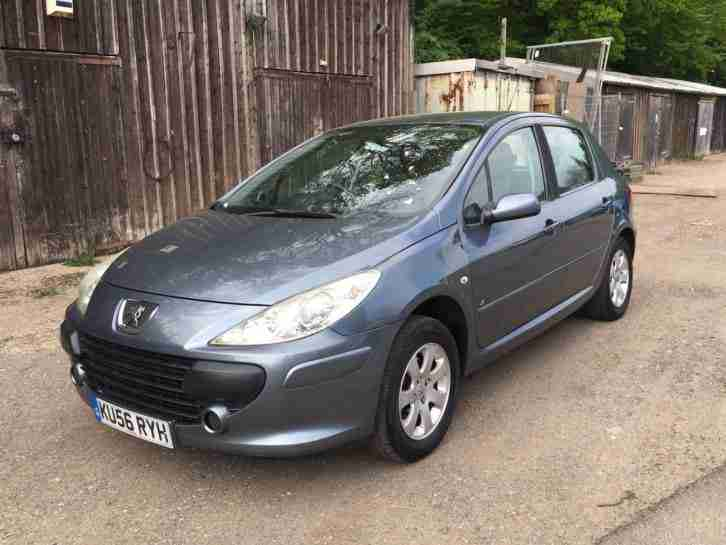 Peugeot 2006 307 S HDI GREY FULL SERVICE HISTORY LOW MILEAGE. car ...