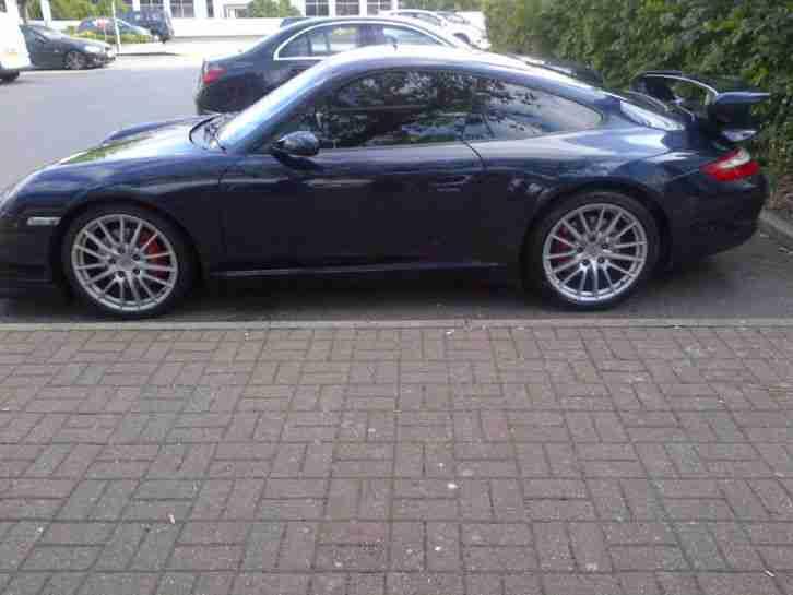 porsche 2006 911 carrera 2 s blue full original gt kit car for sale. Black Bedroom Furniture Sets. Home Design Ideas
