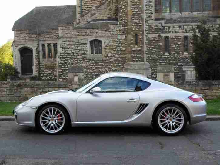 Porsche Cayman S 3 4 Manual Last Owner Had Car 9 Years 30 880 Miles