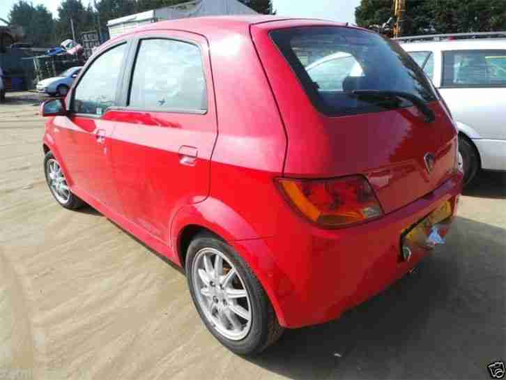 2006 PROTON SAVVY STYLE Semi Automatic RED. Low Miles. Cheap car. Low Mileage