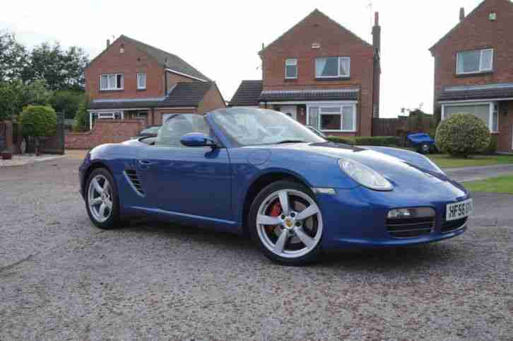 Porsche Boxster. Porsche car from United Kingdom