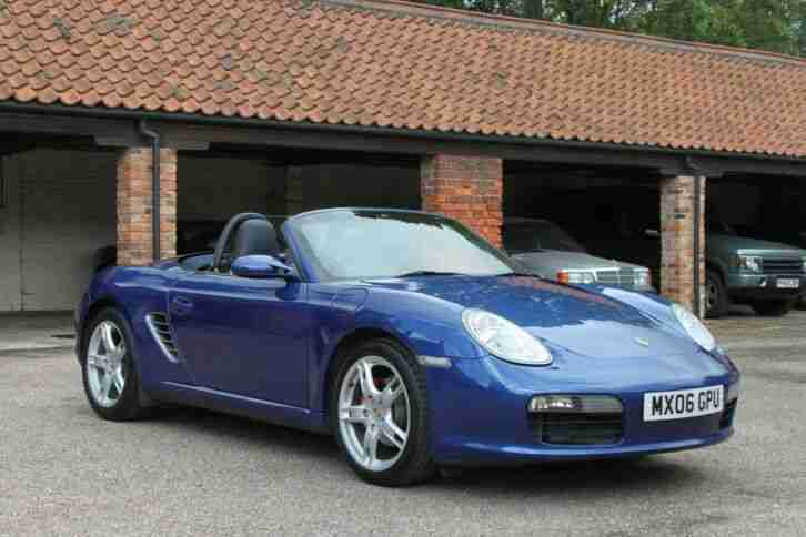 2006 Boxster 987 superb with low