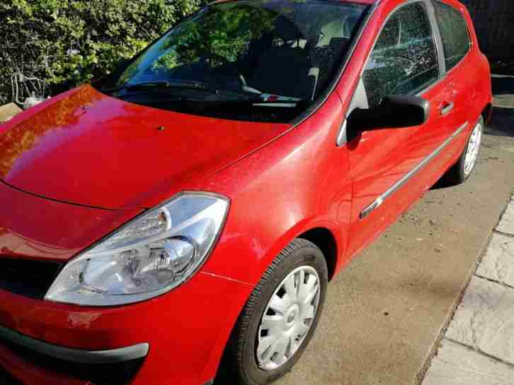 2006 RENAULT CLIO 3 MK 3 1.5 DCI DIESEL 3 DOOR £30 TAX HUGE MPG