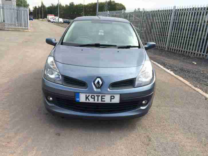 2006 RENAULT CLIO DYNAMIQUE BLUE/FULL M.O.T/RECENT SERVICE/LOW MILAGE/VERY CLEAN