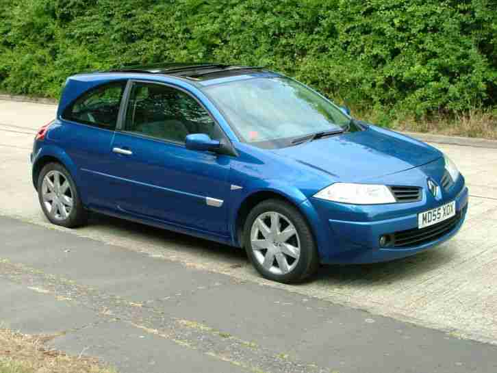 2006 RENAULT MEGANE 1.9 DCI 130 DYNAMIC WITH PANORAMIC ROOF FULL SERVICE HIST