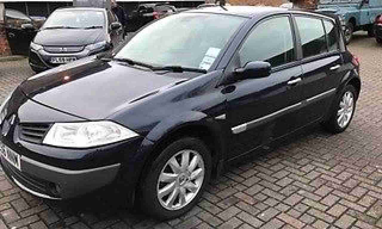 Renault 2006 Megane Dynamique A Blue  Car For Sale