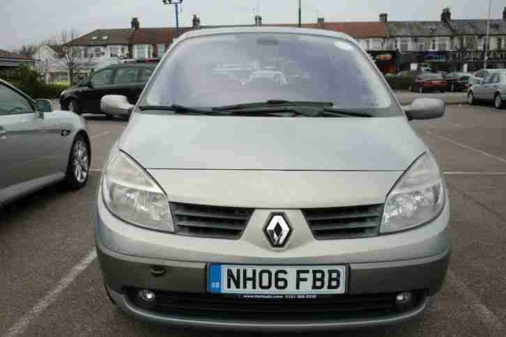 renault 2006 scenic 1 9 dci dynamique 5dr car for sale. Black Bedroom Furniture Sets. Home Design Ideas