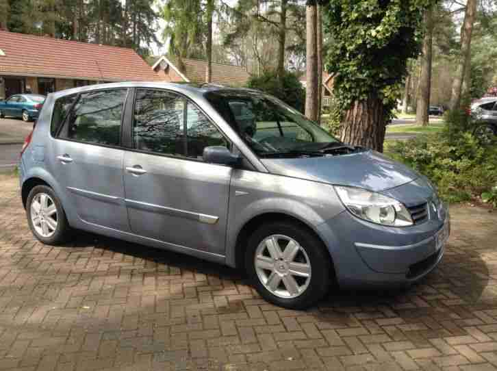 renault 2006 scenic dyn que dci 106 e4 blue car for sale. Black Bedroom Furniture Sets. Home Design Ideas