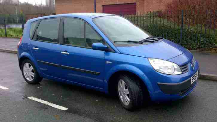 renault 2006 scenic sl oasis vvt blue car for sale. Black Bedroom Furniture Sets. Home Design Ideas
