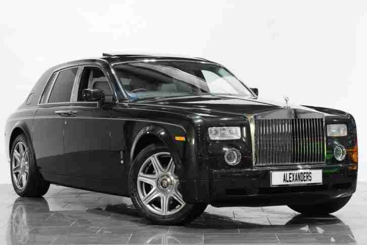2006 Rolls Royce Phantom Auto Petrol black Automatic